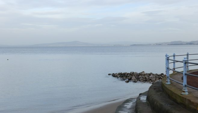 Approaching Warton Crag - A Walk around the Bay - Image 01 - from Morecambe Prom | Steve King