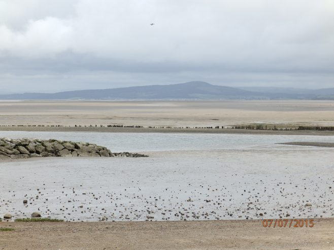 Approaching Warton Crag - A Walk around the Bay - Image 04 - from Morecambe Prom | Steve King