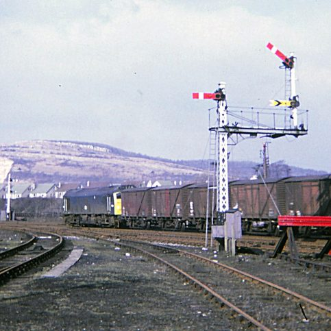 Around Warton Crag - Railway Views - Image 02 -  Carnforth freight in 1971