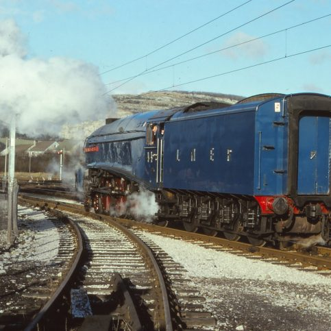 Around Warton Crag - Railway Views - Image 05 -  backing onto the train in 1979