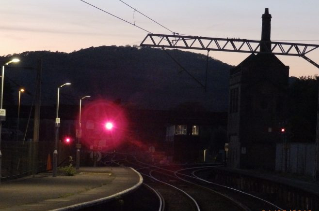Around Warton Crag - Railway Views - Image 07 - still waiting for the train from Barrow ! | Steve King