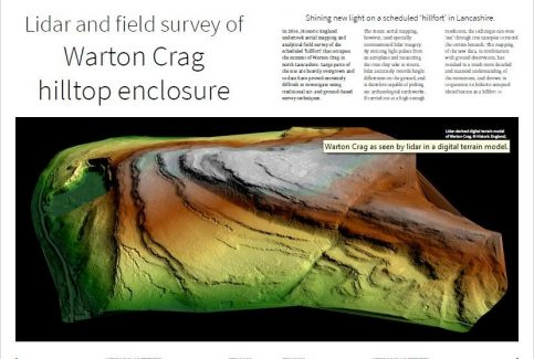 Historic England's LIDAR and Field Survey of Warton Crag Hilltop Enclosure - Summary Overview