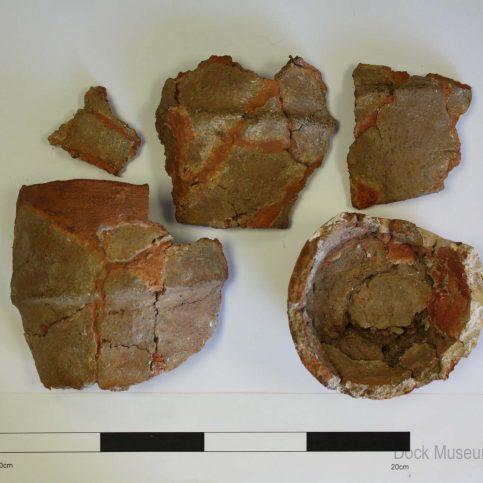 Small urn reddish-brown, Appleby Slack, Birkrigg