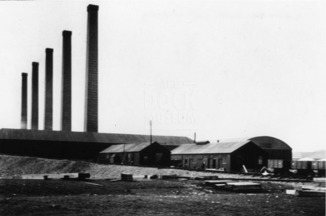 Salt works photograph