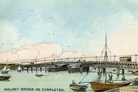 Postcard. Walney Bridge
