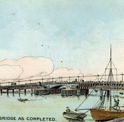 Postcard. Walney Bridge
